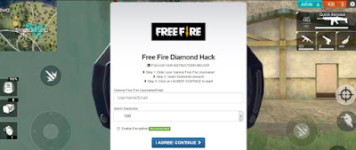 Freefire.unlocked.games generator Diamond Free fire terbaru