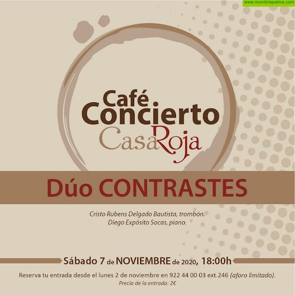 Continúa el ciclo Café-Concierto de Villa de Mazo con la actuación del Dúo Contrastes