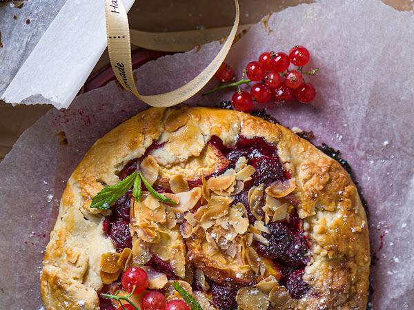 Рецепт галеты с ягодами