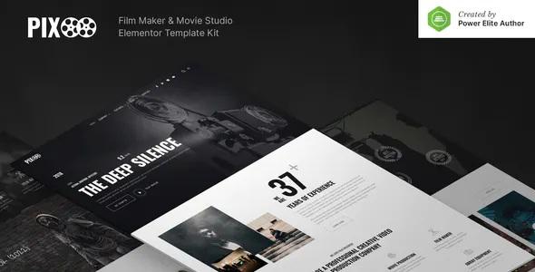 Best Film Maker & Movie Studio Elementor Template Kit
