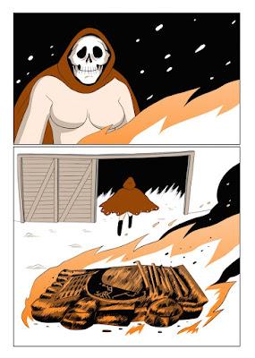 Planche de Captain Death, Alexis Bacci