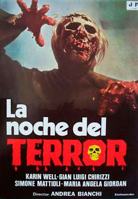 Burial Ground The Nights Of Terror 1981 DVD R2 PAL Spanish