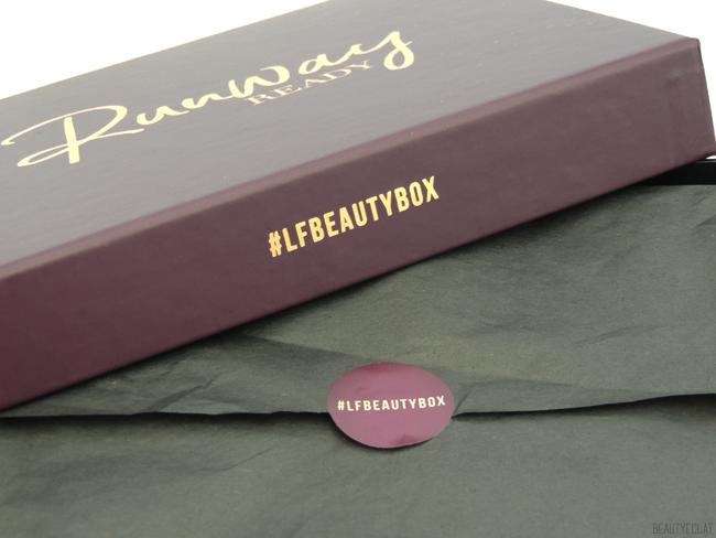 revue avis test Lookfantastic Beauty box fevrier 2017 runway ready