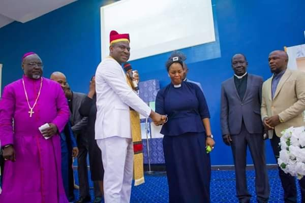 Senator Binta Ordained A Pastor 16 Years After Being In National Assembly (Photos)