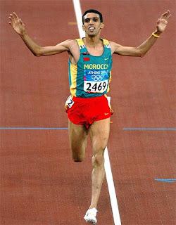 El Guerrouj la légende du sport Marocain
