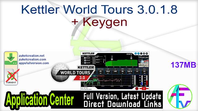 Kettler World Tours 3.0.1.8 + Keygen
