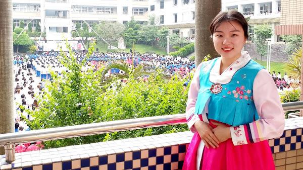 韓國正妹當網紅「尋找彰化味」 推廣台蔬食料理擄獲粉絲