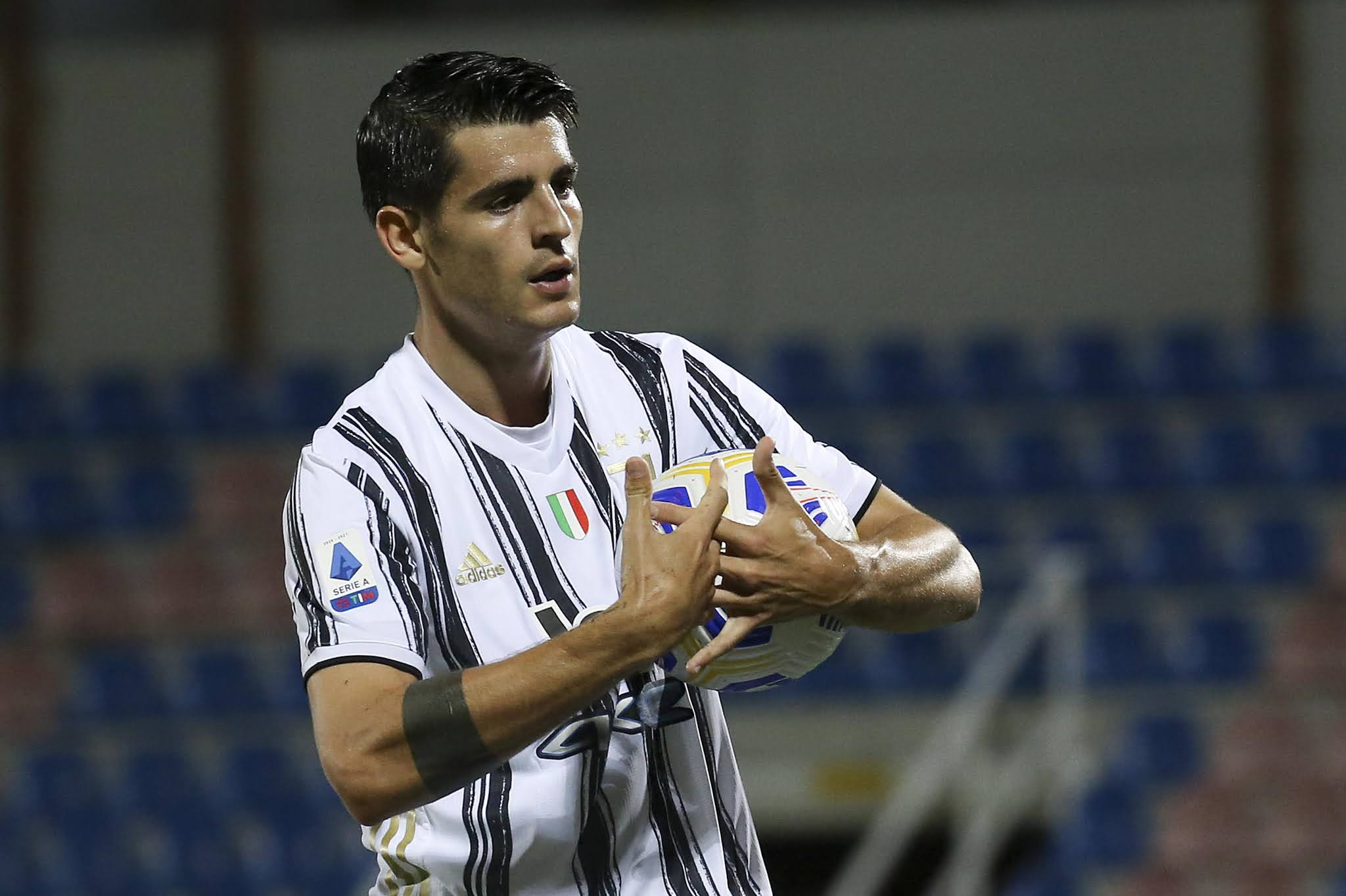 Juventus striker Alvaro Morata marked his return with a goal last weekend