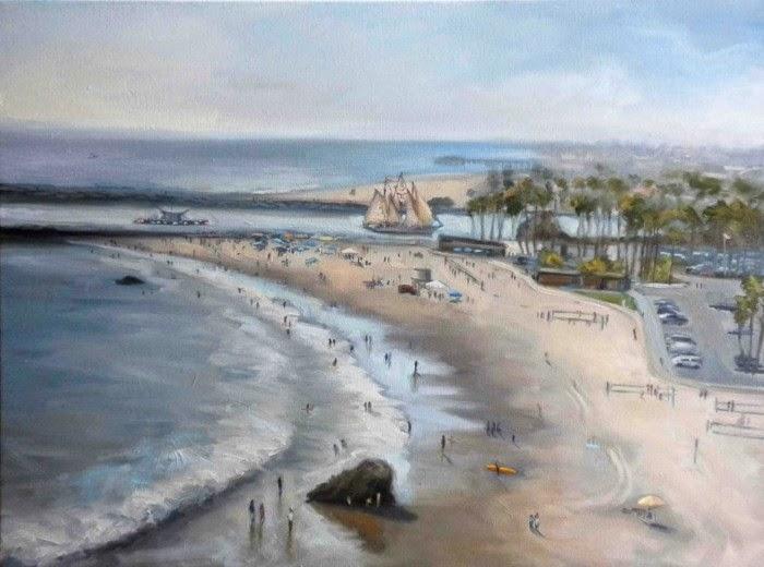 Пленэрная живопись. Jonathan Luczycki