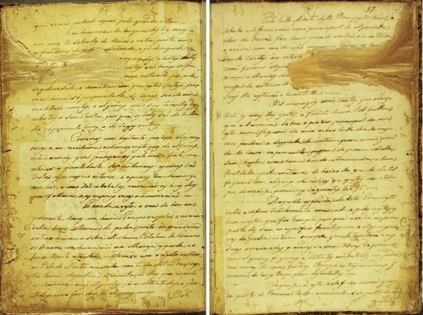 Pagine del manoscritto 512.