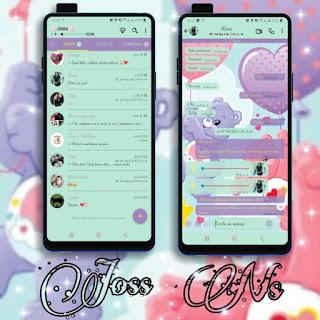 Teddy Bear Love Theme For YOWhatsApp & NS WhatsApp By Joss