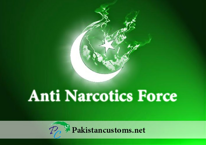 Anti Narcotics Force Pakistan