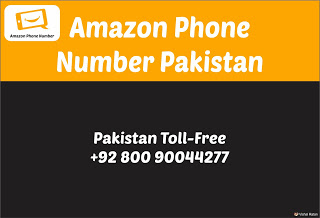 Amazon Phone Number Pakistan