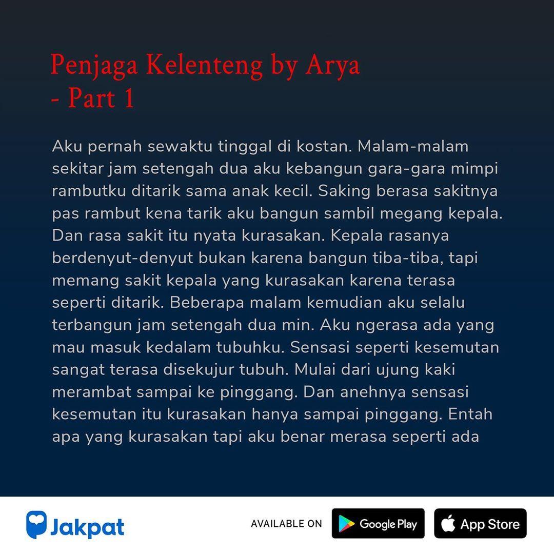Kisah Misteri Penjaga Kelenteng by Arya Part 1