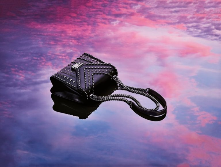 Michael Kors x Yang Mi Whitney handbag in black