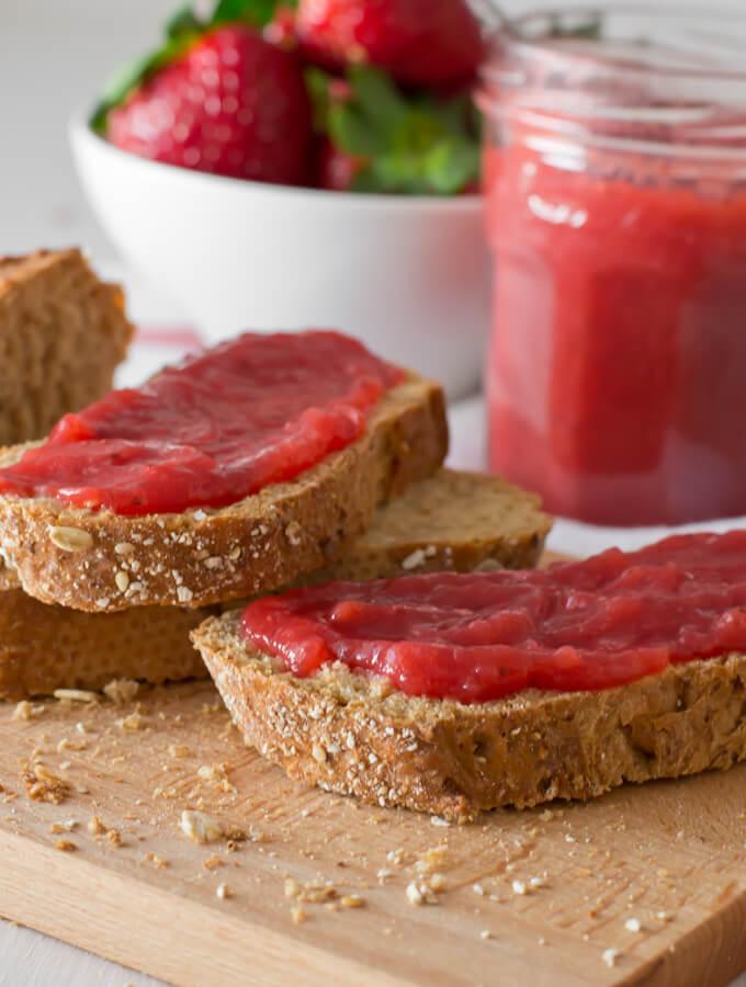 How to make Strawberry Jam | danceofstoves.com