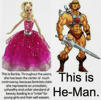 barbie and he-man | funny pic