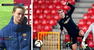 De Jong reveals Griezmann's first goal against Granada made Barcelona believe