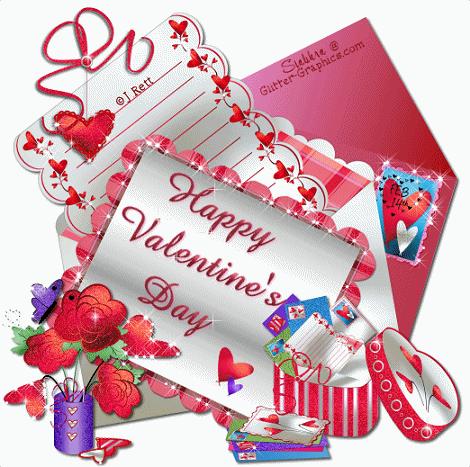 Kartu Ucapan Valentine Day 2017