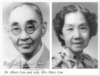 Dr. Albert Lim Liat Juay and wife, Mary Lim
