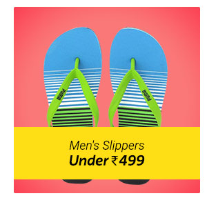 Men's Slipper under Rs. 499