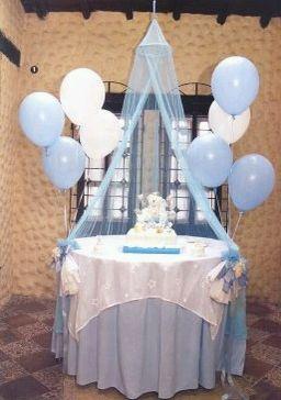 Mesa Principal De Baby Shower Nino.Sandra Jeanty Sandrajeanty On Pinterest