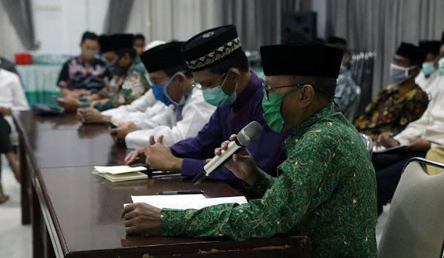 Rapat Koordinasi Pelaksanaan Salat Idul Fitri