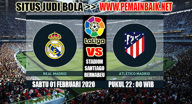Big Match La Liga Malam Ini : Real Madrid Vs Atletico Madrid