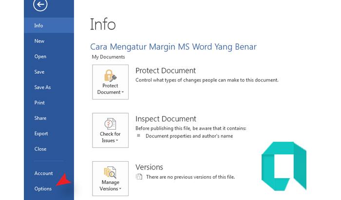 Cara Mengatur Margin MS Word Yang Benar