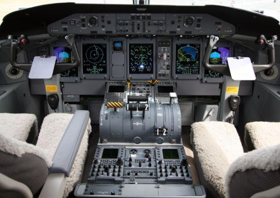 Bombardier Dash 8 Q400 cockpit