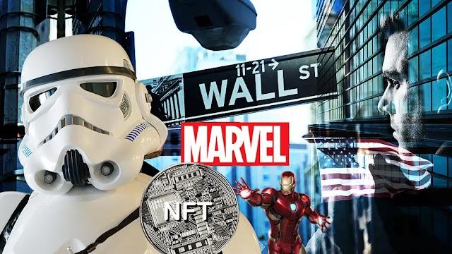Personajes de Star Wars y Marvel también tendrán sus NFT (Tokens No Fungibles)