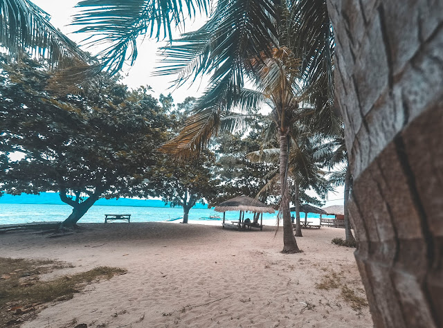 zambales beach with white sands