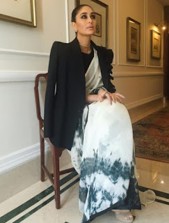Kareena Kapoor Khan in Mirari and Prakshi Fine jewellery for an event in New Delhi