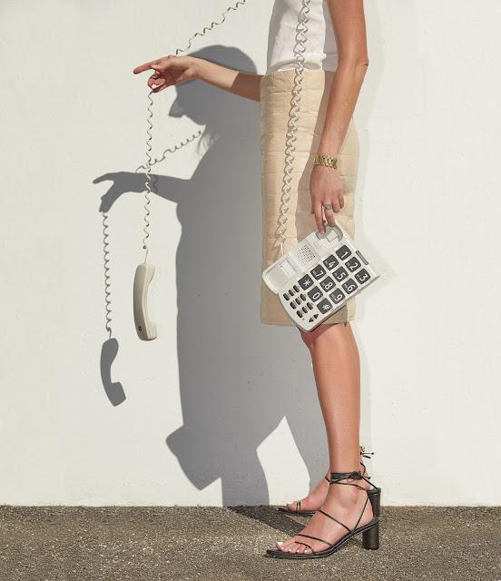 Bottega Veneta Leather Skirt Pouch Bag Amanda Shadforth