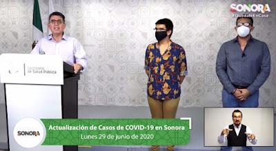 Se acumulan en Sonora 870 defunciones y 8533 casos confirmados ...