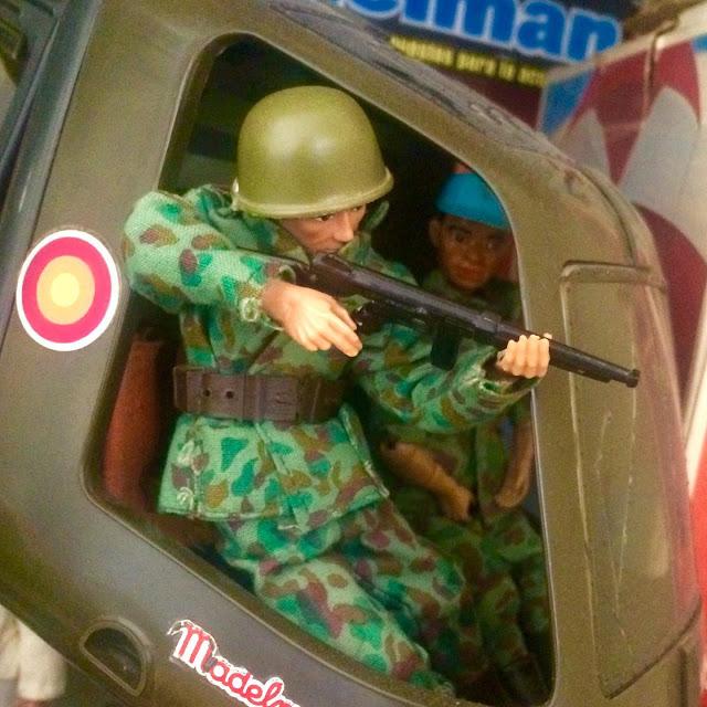 Helicoptero Madelman militar