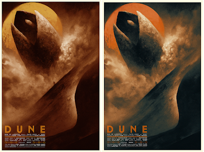 New York Comic Con 2019 Exclusive Dune Screen Print by Karl Fitzgerald x Bottleneck Gallery