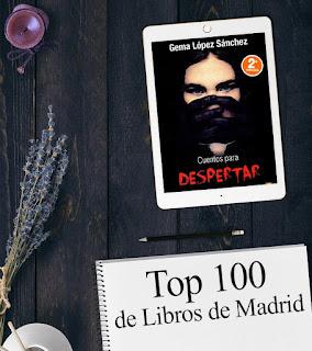 Cuentos para despertar, novela de Gema López Sánchez. Top 100 de Libros de Madrid
