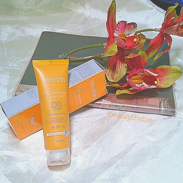 Beautiful with Beautyshidae: Wardah DD Cream C-Defense Review