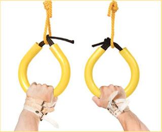 Как сделать кольца для гимнастики своими руками