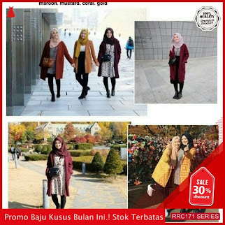RRC171C64 Colour Blazer Wanita Terbaru BMGShop