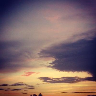 Vue du ciel magnifique