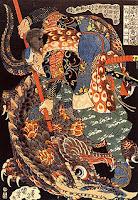 220px Miyamoto Musashi killing a giant nue