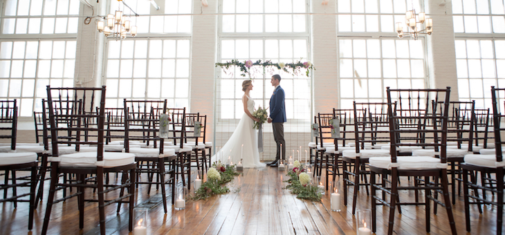 3 Looks for a Modern Industrial Wedding
