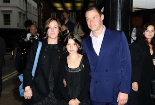 Dominic West And Old Wife Polly Astor
