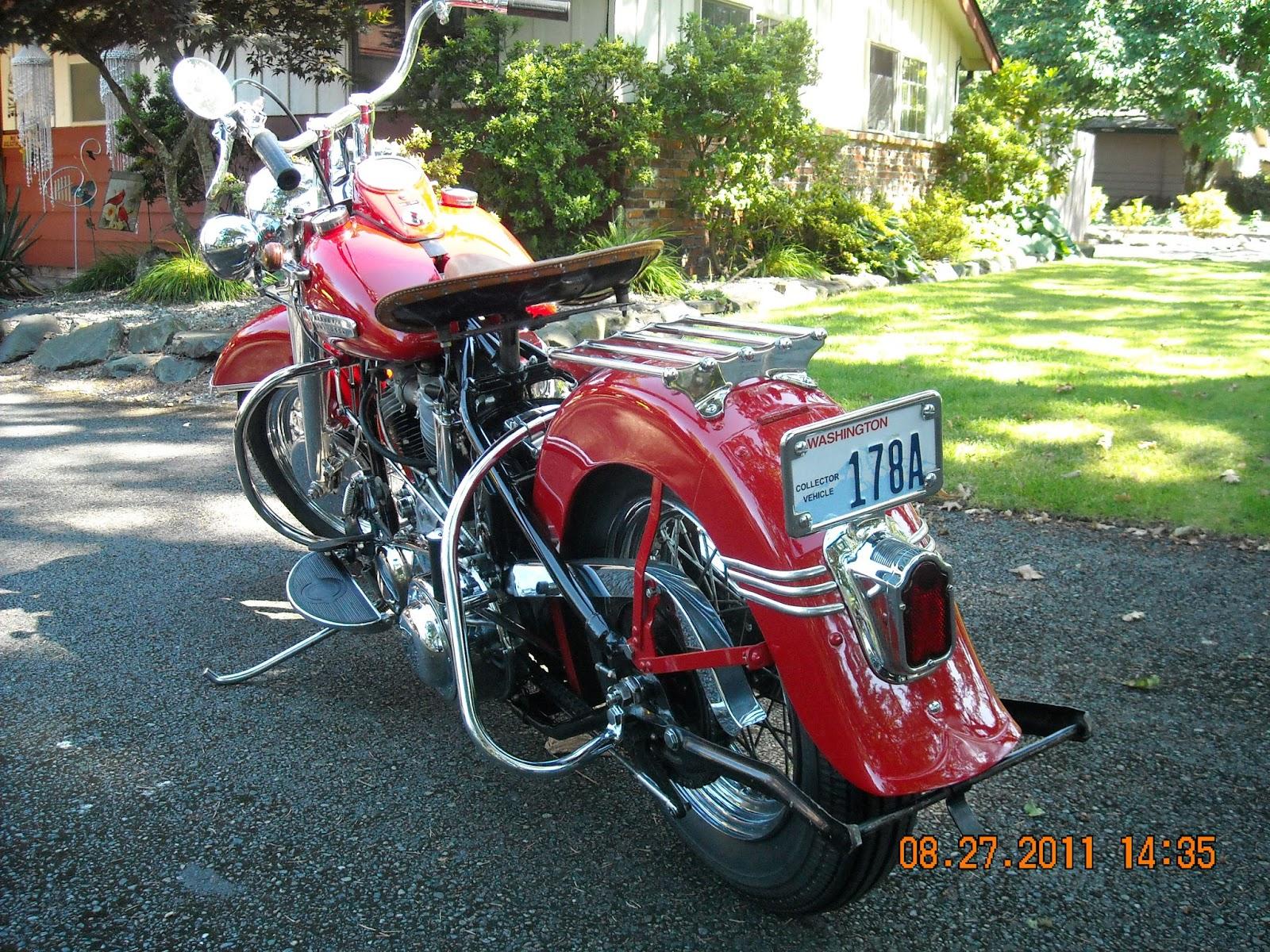 Old Harley Davidson: Harley Davidson Classic: Classic Harley Davidson 1950s