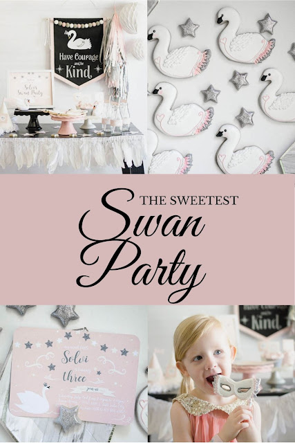 Swan Party Ideas