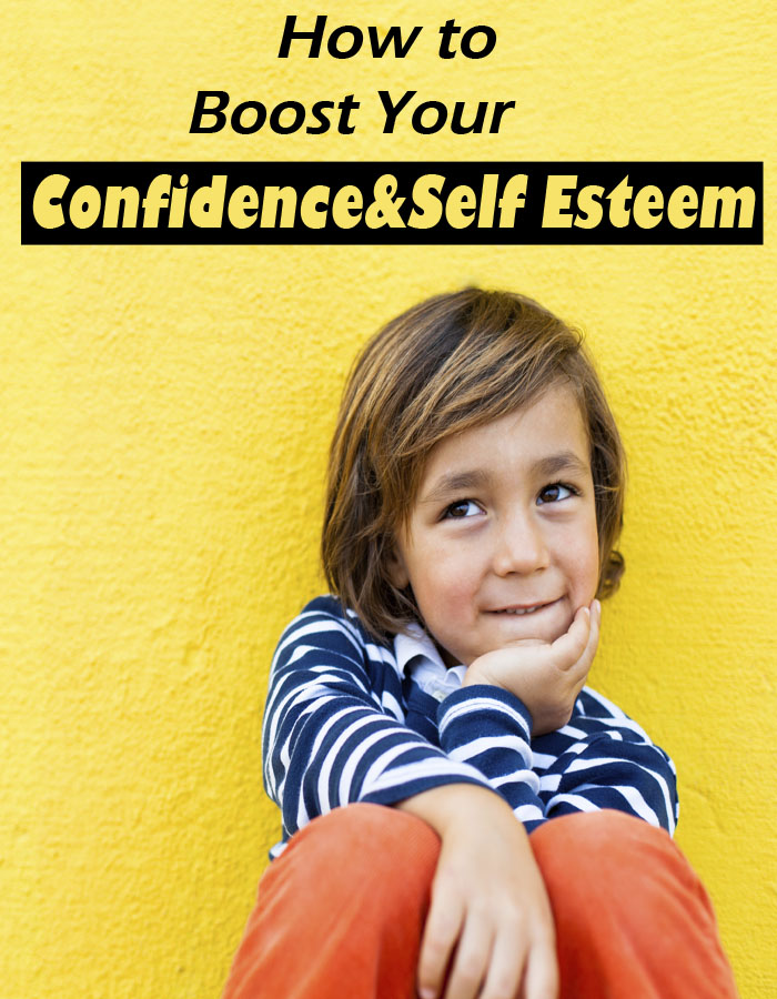 How to Boost Your Child's Confidence & Self Esteem