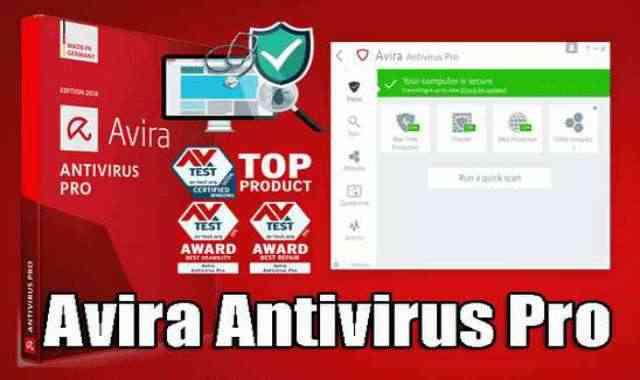 تحميل وتفعيل برنامج Avira Antivirus Pro عملاق الحماية الالمانى اخر اصدار محدث دائما