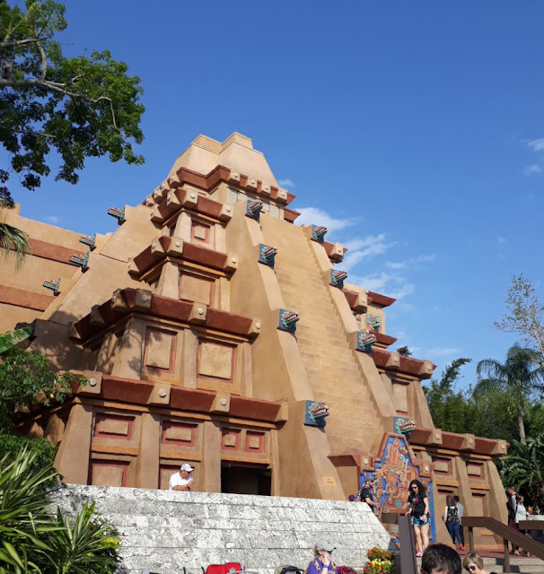 Mexico Pyramid at EPCOT